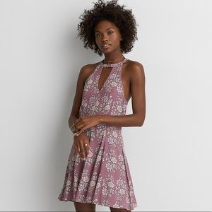American Eagle keyhole floral maybe dress!